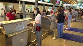 松山機場,搭飛機,機場報到櫃台,體驗出國,旅遊,旅行,國旅,出國,觀光(SOT)