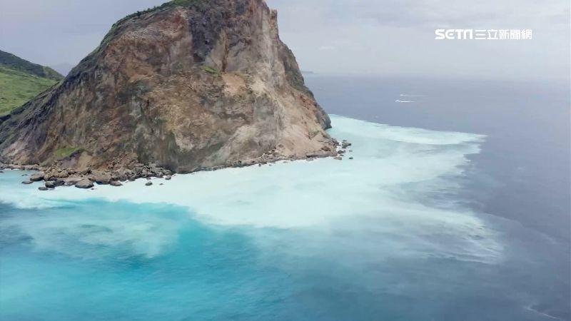 台灣絕美秘境!上帝打翻的「牛奶湖」 龜山島美景媲美帛琉 | 生活 | 三