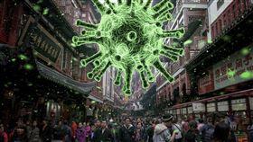 新型冠狀病毒,武漢肺炎,中國 圖翻攝自pixabay