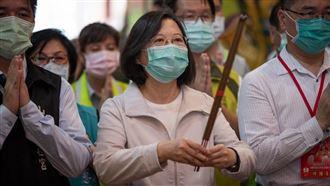 蔡英文:媽祖是台灣度過挑戰重要原因