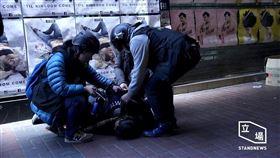港警遭爆「檢取被捕抗爭者DNA」 保安局長:是依法行事(圖/翻攝自立場新聞)