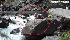 南投秘境瀑布奪6命 民眾搶拍照落水(圖/翻攝畫面)