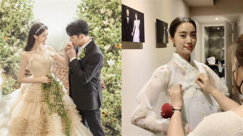 女團WG成員惠林嫁了 絕美婚紗曝光