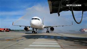 虎航A320首飛澎湖! 旅客:像被免費升級