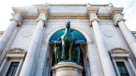 老羅斯福總統,雕像(圖/Bons Plans Voyage New York臉書)