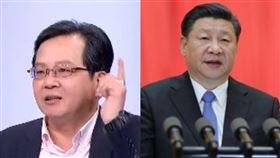 名嘴黃創夏、中華人民共和國領導人習近平(組合圖/資料照)