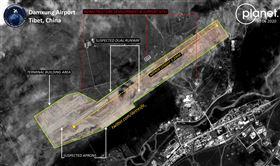 印度,中國,解放軍,西藏,機場,修建(圖/翻攝自@detresfa_ 推特)