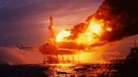 北海大爆炸,阿爾法鑽油台爆炸(圖/翻攝自維基百科)