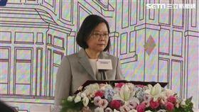 總統蔡英文6日國立台灣博物館鐵道部園區開幕典禮。(圖/記者盧素梅攝影)