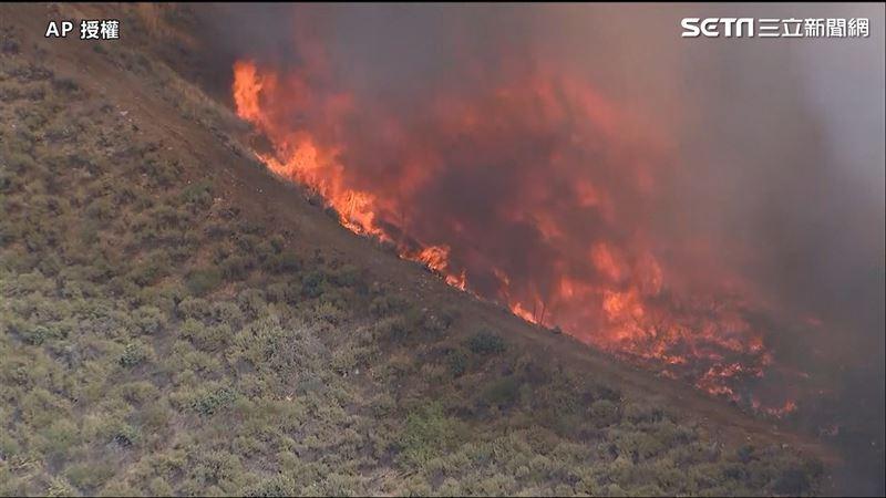 美國加州大火 恐燒超過1000英畝