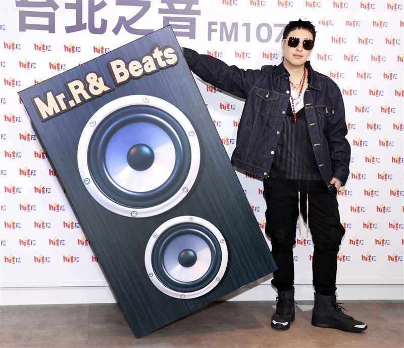 潘瑋柏帶著全新專輯再度回歸華語樂壇。(記者邱榮吉/攝影)