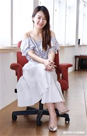 李又汝接受三立新聞網專訪。(圖/記者林聖凱攝影)