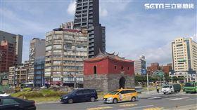 北門,老公寓,老屋。(圖/記者陳韋帆攝影)