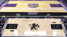 NBA,國王主場,球場。(圖/翻攝自國王官方推特)