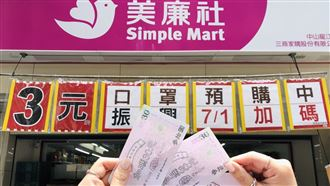 超市再加碼 買民生品滿5百送75元