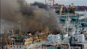 前鎮,漁港,火燒船,延燒,消防