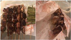 夜市,新竹,竹北,烤肉,串燒,魷魚(圖/翻攝自爆怨公社