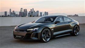 ▲奧迪e-Tron GT Concept。(圖/翻攝Audi網站)