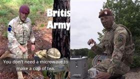 「微波爐奶茶」引爆全英怒火!出動陸海空三軍…美軍反擊了。(組圖/翻攝自美國國防部、推特)