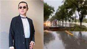 黃安上傳三峽大壩下遊的慘況 圖/微博