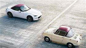 ▲MX-5 Miata創廠百年紀念車。(圖/翻攝Mazda網站)