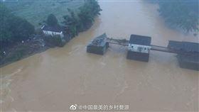 (圖/翻攝自中國最美的鄉村婺源)中國,彩虹橋,古蹟,洪災