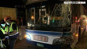 公車,乘客,追撞,新店,翻攝畫面