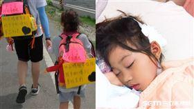 6歲童4度手術求媽祖庇佑/王志剛提供