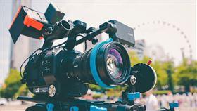 相機,採訪,鏡頭,攝影機。(圖/Pixabay)