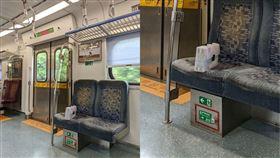 彩色麥克筆,設計,區間車,火車(翻攝自 爆廢公社)
