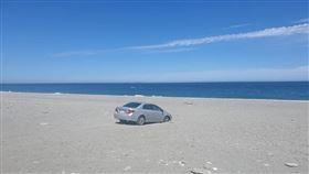 沙灘,海邊,擱淺,刁車,台東
