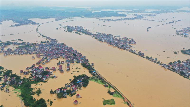 長江洪水未退又逢雙颱夾擊 中國緊急發布防汛防颱警訊