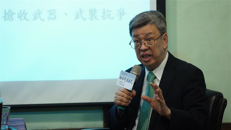 陳建仁:有真相才可能和解 避免威權時代重來