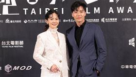 曾之喬與張睿家擔任「最佳新演員」頒發來賓。(圖/台北電影獎提供)