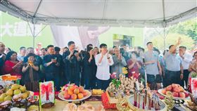 陳其邁競選總部啟用祈福典禮(陳其邁競選團隊提供)