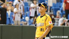 中信兄弟丘昌榮總教練。(圖/記者林聖凱攝影)
