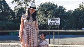 昆凌和女兒小周周。(圖/翻攝自IG)