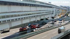 64快速道路,小貨車,火燒車,消防,救火