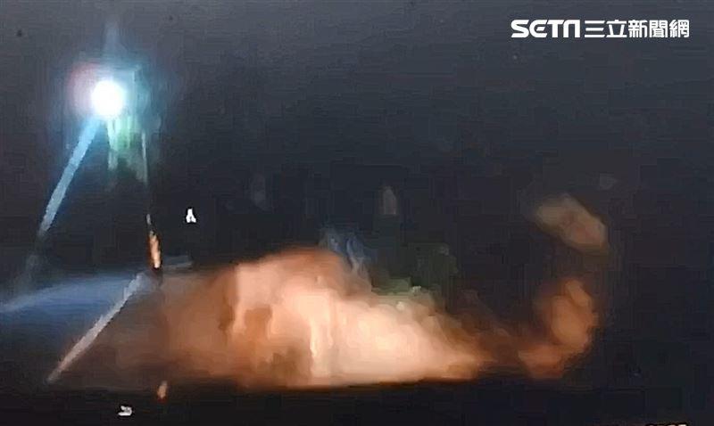 情侶車禍1死1重傷 驚悚撞擊畫面曝