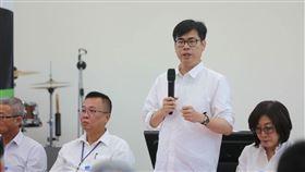 高雄,市長補選,陳其邁,科技業(圖/陳其邁競選團隊提供)