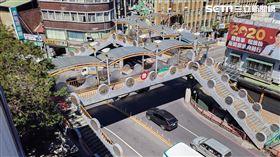 小東門陸橋。(圖/新北市工務局提供)