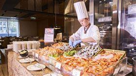 台北美福大飯店彩匯自助餐。(圖/業者提供)