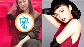 48歲日本女星常盤貴子,曬出深V西裝辣照。(圖/翻攝自IG)
