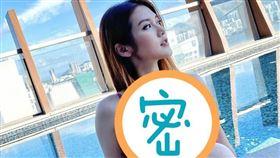香港辣模張沛樂曬出美照為大家消暑。(圖/翻攝自IG)