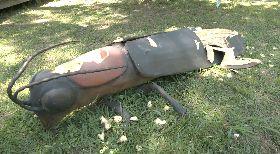 花蓮松園別館裝置藝術遭破壞 館方報警