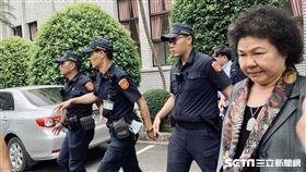陳菊離開立法院 圖/讀者提供