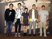 「國片一起起飛」刻在你心底的名字演員陳昊森、曾敬驊、邵奕玫。(記者邱榮吉/攝影)