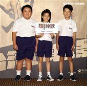 「國片一起起飛」嗨!神獸演員陳京輔、白潤音、林祐銓。(記者邱榮吉/攝影)