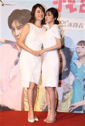 我的青春沒在怕演員劉瑞琪、蔡黃汝。(記者邱榮吉/攝影)