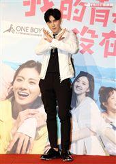 我的青春沒在怕演員唐禹哲。(記者邱榮吉/攝影)